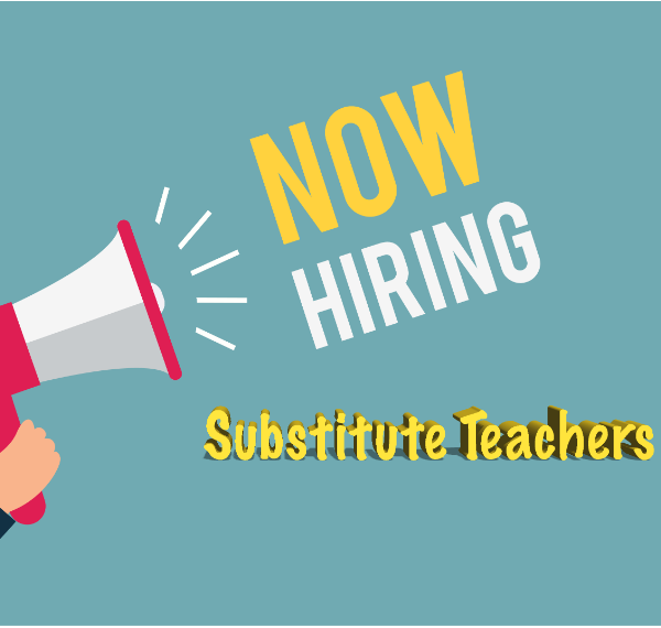 Now Hiring Substitute Teachers